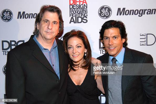 David Rockwell Margaret Russell and Dan Ragone attend Design Industries Foundation Fighting Aids Celebrates the 10th Anniversary of Dining By Design...