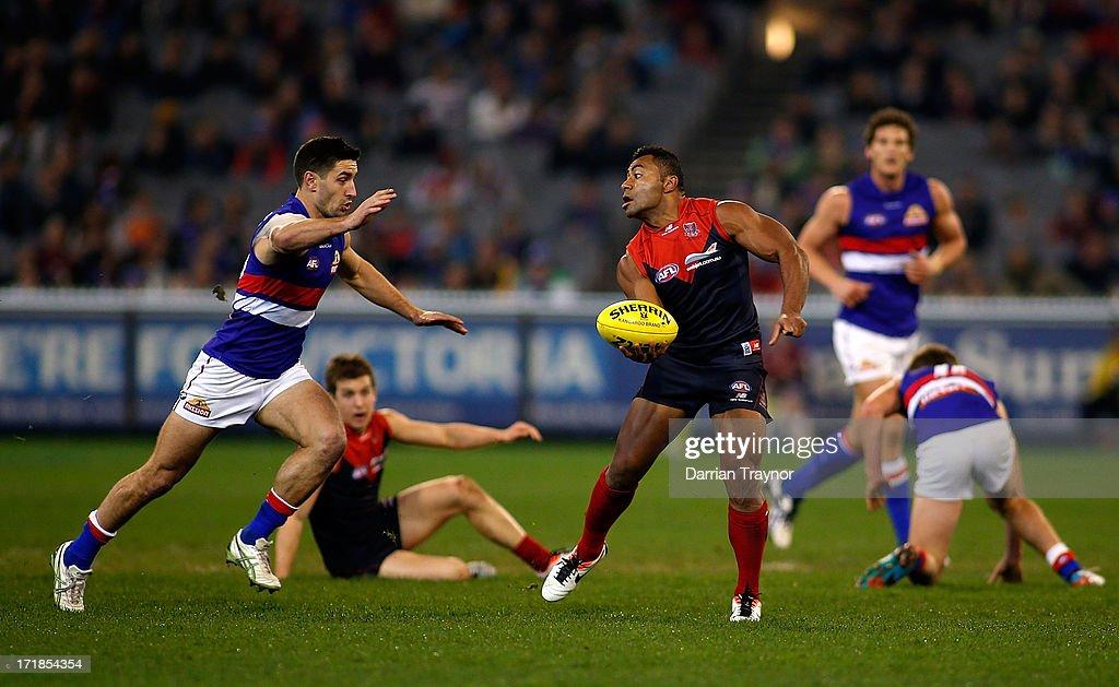 AFL Rd 14 - Melbourne v Western Bulldogs