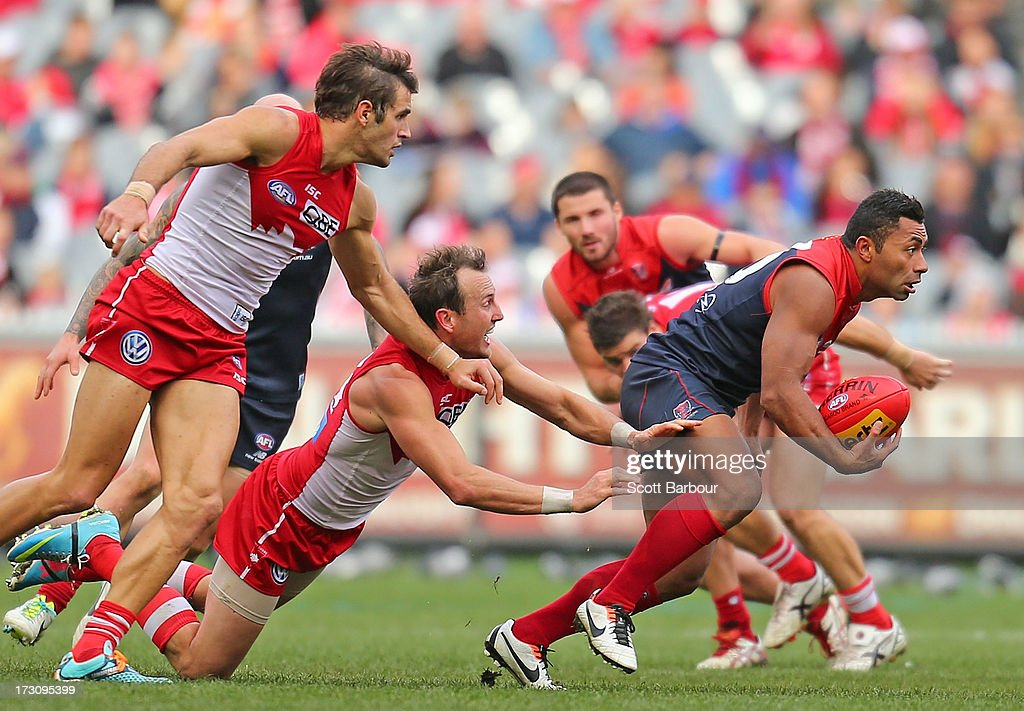 AFL Rd 15 - Melbourne v Sydney