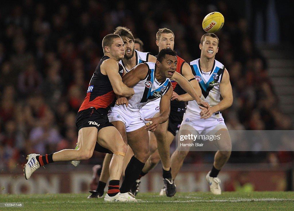 AFL Rd 23 - Essendon v Port Adelaide