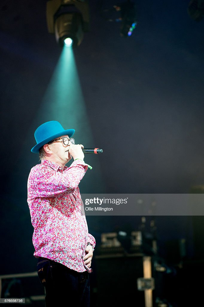 David Rodigan perfoms onstage for Noisy on Day 1 of Lovebox Festival at Victoria Park on July 15, 2016 in London, England.
