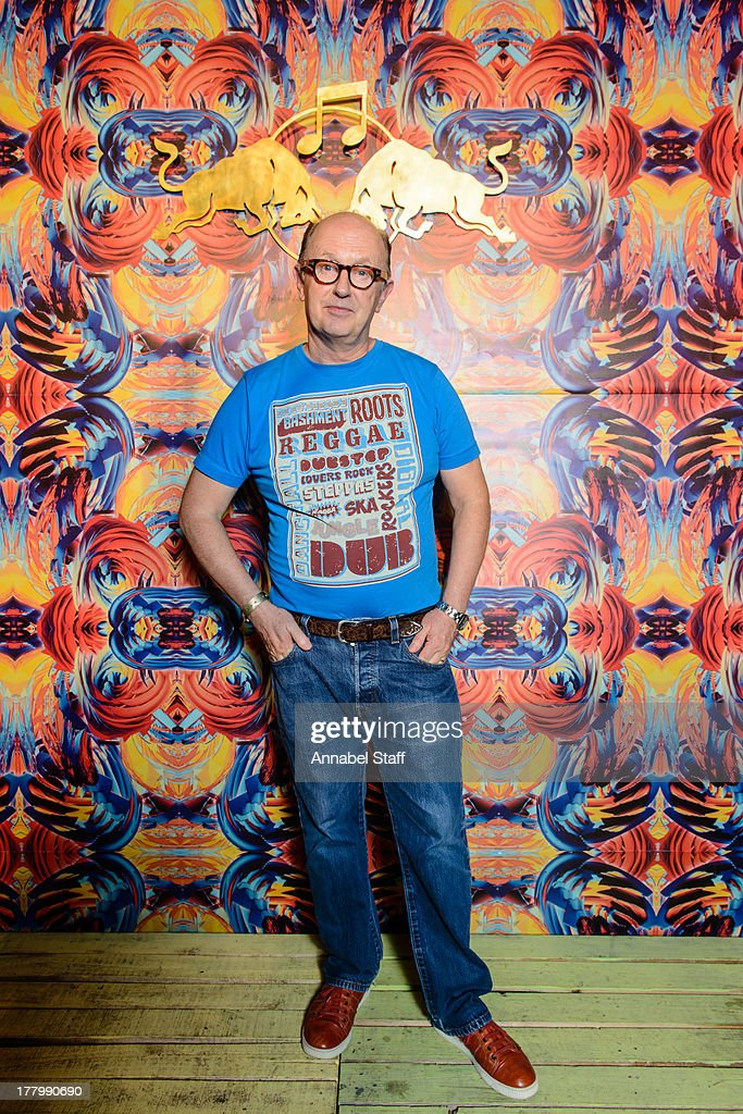 David Rodigan poses for a portrait at the Red Bull Music Academy Sound System at Notting Hill Carnival at Notting Hill on August 26, 2013 in London, England.