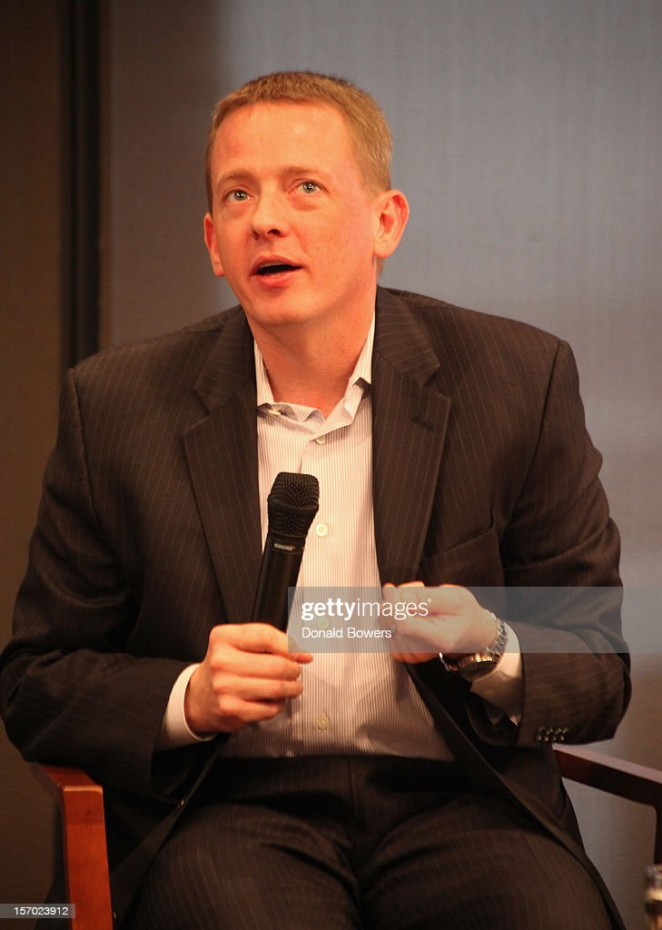 David Rolf speaks during a panel at The Ford Foundation Hosts Day Of Discussion On The Hidden World Of Domestic Work In The US at Ford Foundation on November 27, 2012 in New York City.