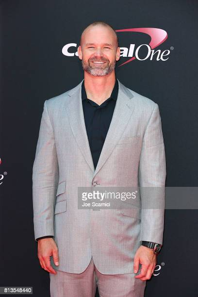 David Ross arrives at the 2017 ESPYS at Microsoft Theater on July 12 2017 in Los Angeles California