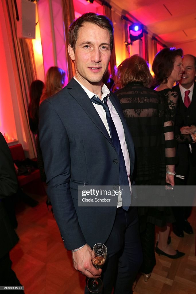 David Rott during the Bunte and BMW Festival Night 2016 during the 66th Berlinale International Film Festival Berlin on February 12, 2016 in Berlin, Germany.