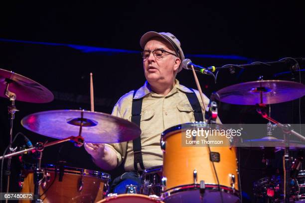 David Ruffy of Ruts DC performs at Brixton Academy on March 24 2017 in London United Kingdom