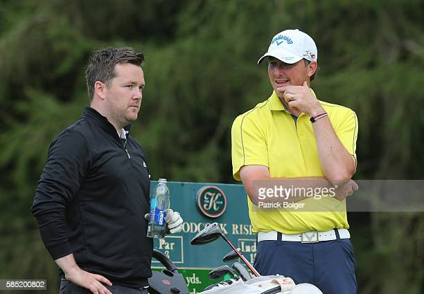 David Ryan from Cahir Park Golf Club with Kevin McGuire at The K Club on August 2 2016 in Straffan Ireland