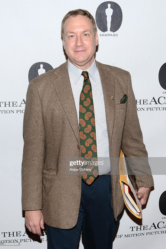 David S. Cohen attends The Academy Spotlights VFX Game-Changers: 'Jurassic Park 3D' at AMPAS Samuel Goldwyn Theater on April 2, 2013 in Beverly Hills, California.
