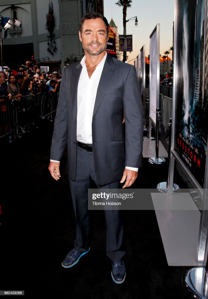 David S. Lee attends the premiere of Warner Bros. Pictures 'Geostorm' at TCL Chinese Theatre on October 16, 2017 in Hollywood, California.