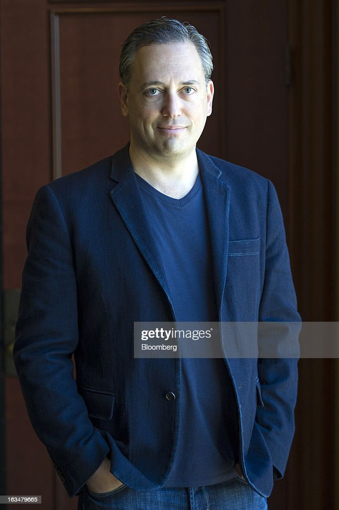 David Sacks, chairman and chief executive officer of Yammer Inc., stands for a photograph prior to a Bloomberg West Television interview at the South By Southwest Conference in Austin, Texas, U.S., on Sunday, March 10, 2013. The 20th annual SXSW Interactive Festival takes place March 8-12. Photographer: David Paul Morris/Bloomberg via Getty Images