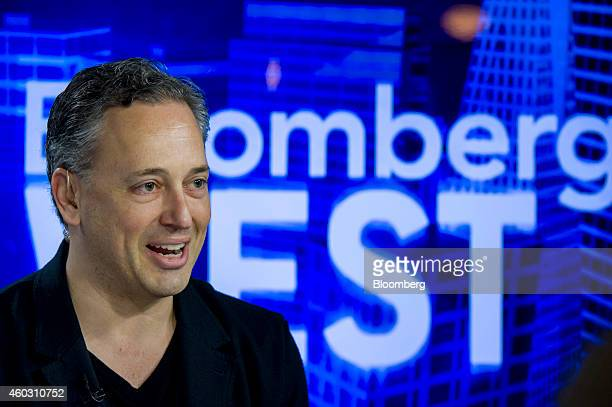 David Sacks cofounder of PayPal and chief operating officer of Zenefits speaks during a Bloomberg West television interview in San Francisco...