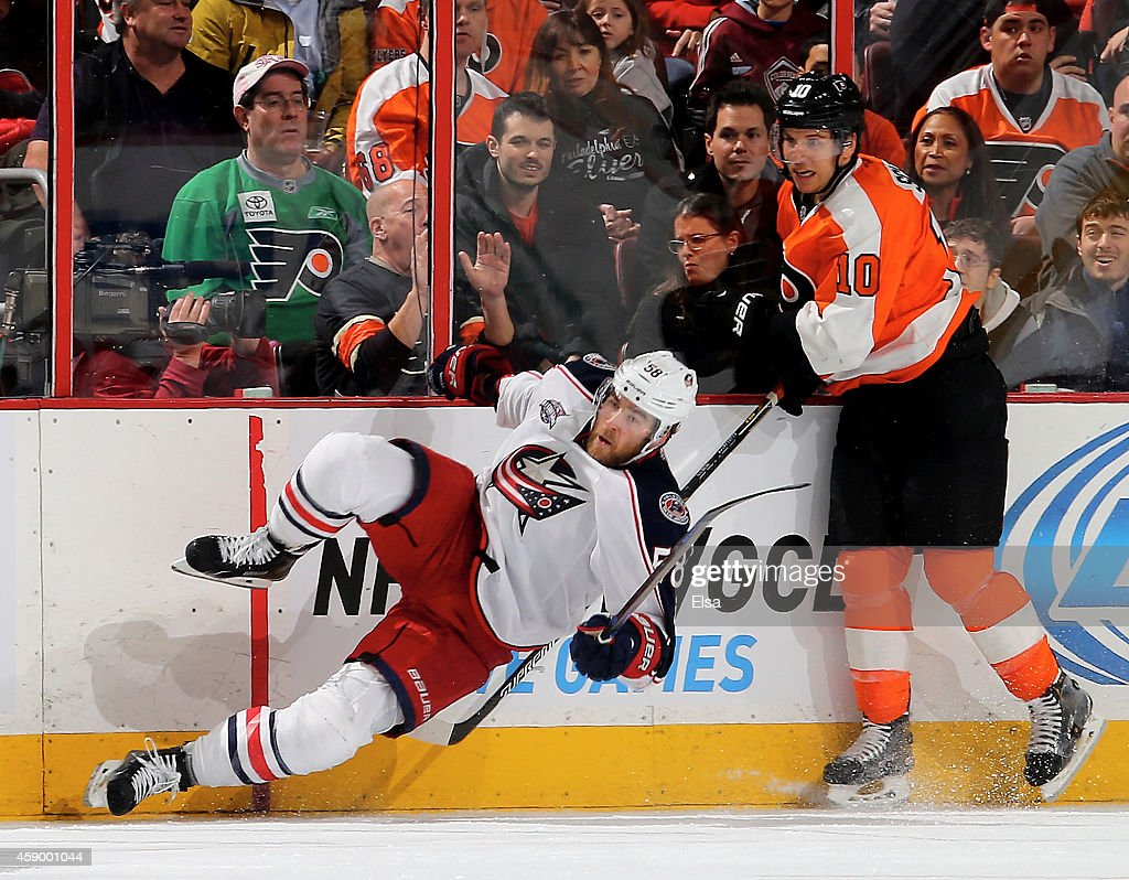Columbus Blue Jackets v Philadelphia Flyers Photos and Images ...