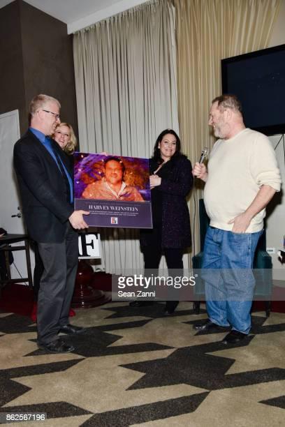 David Schwartz Mandy Ward Johanna Bennett and Harvey Weinstein attend First Time Fest Closing Night Awards and Tribute to Harvey Weinstein at...