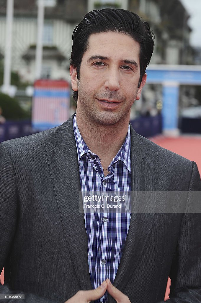 <a gi-track='captionPersonalityLinkClicked' href=/galleries/search?phrase=David+Schwimmer&family=editorial&specificpeople=206148 ng-click='$event.stopPropagation()'>David Schwimmer</a> arrives for the 'Trust' premiere during the 37th Deauville American Film Festival on September 8, 2011 in Deauville, France.
