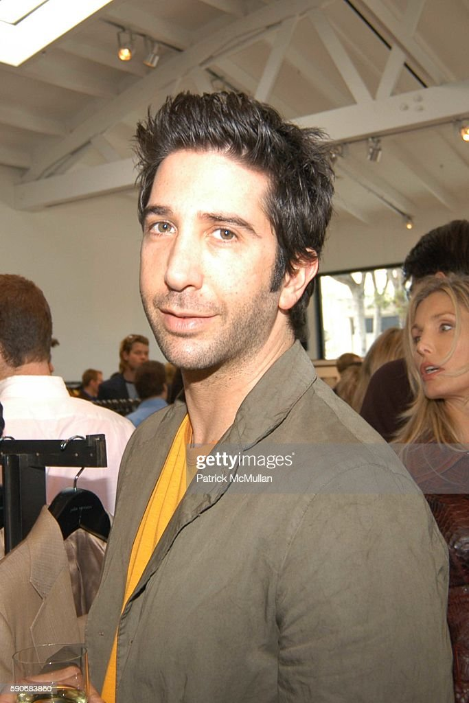 David Schwimmer attends John Varvatos' 3rd Annual Stuart House Charity Benefit at John Varvatos Boutique on March 5 2005 in West Hollywood California