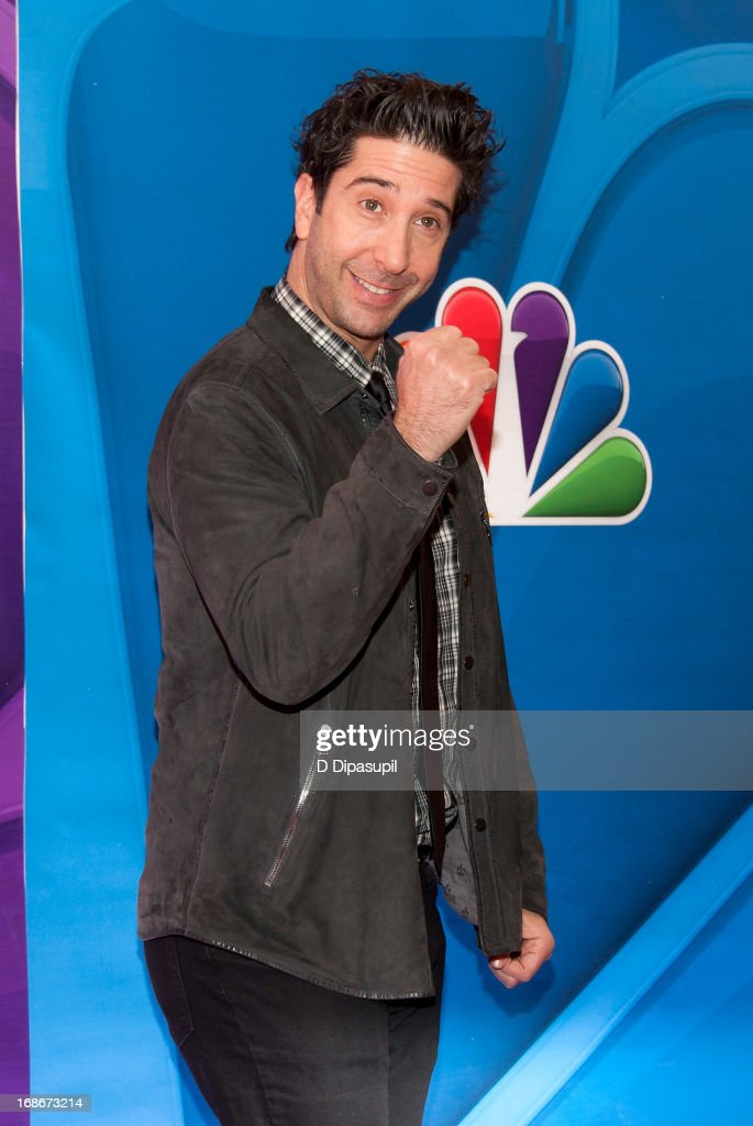 David Schwimmer attends the 2013 NBC Upfront Presentation Red Carpet Event at Radio City Music Hall on May 13, 2013 in New York City.