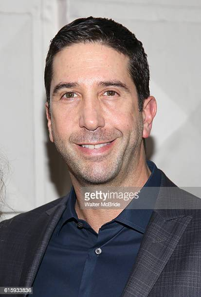 David Schwimmer attends the Broadway Opening Night performance of 'The Front Page' at the Broadhurst Theatre on October 20 2016 in New York City