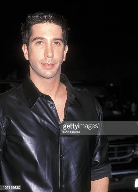 David Schwimmer during David Schwimmer Sighting outside the David Letterman Show in New York City September 4 2001 at Ed Sullivan Theatre in New York...