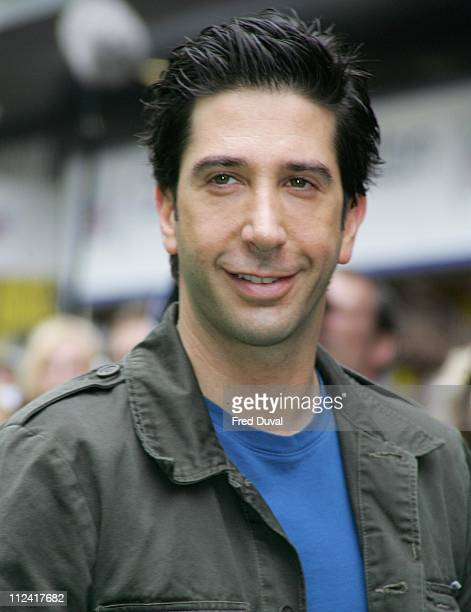 David Schwimmer during 'Madagascar' London Premiere at Empire Leicester Square in London Great Britain