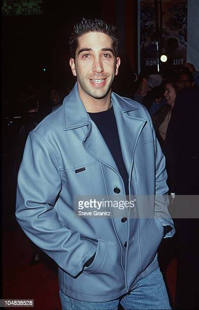 David Schwimmer during 'Romeo Juliet' Los Angeles Premiere at Mann Chinese Theatre in Los Angeles California United States