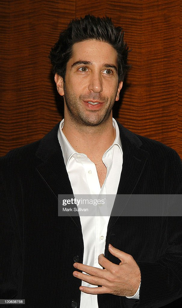 <a gi-track='captionPersonalityLinkClicked' href=/galleries/search?phrase=David+Schwimmer&family=editorial&specificpeople=206148 ng-click='$event.stopPropagation()'>David Schwimmer</a> during The Museum of Television and Radio Annual Los Angeles Gala - Arrivals at The Beverly Hills Hotel in Beverly Hills, California, United States.