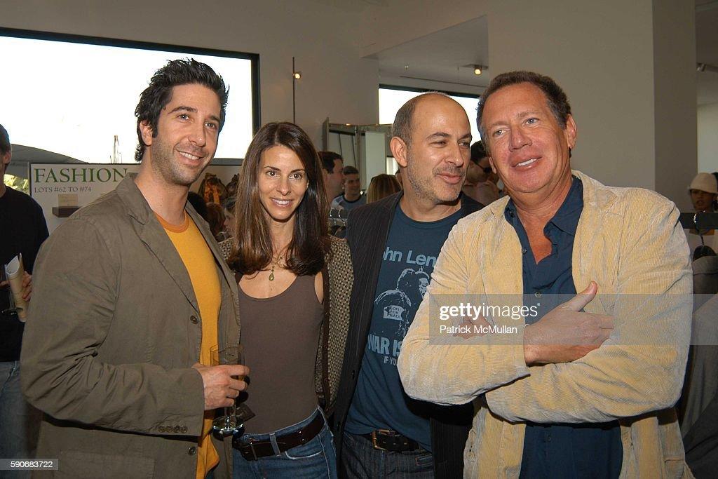 David Schwimmer Joyce Zylberberg John Varvatos and Gary Shandling attend John Varvatos' 3rd Annual Stuart House Charity Benefit at John Varvatos...