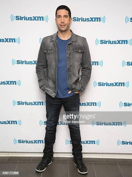 David Schwimmer visits at SiriusXM Studio on May 31 2016 in New York City