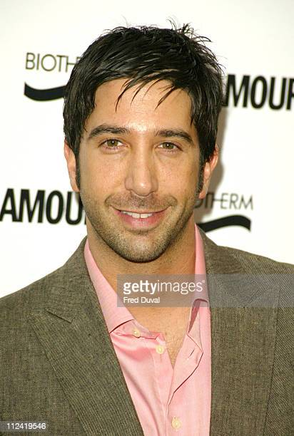 David Schwimmer wins Best Man during Glamour Women Of The Year Awards 2004 Arrivals at Berkley Square in London Great Britain