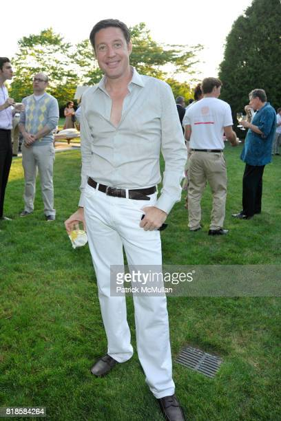 David Scott attends GODS LOVE WE DELIVERMid Summer Night Drinks Benefit at Home of Chad A Leat on June 19 2010 in Bridgehampton New York