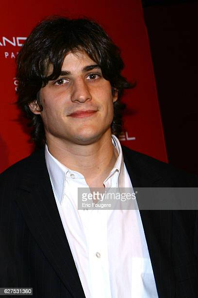 David Screla at the Lancel Red Party held at the Olympia in Paris