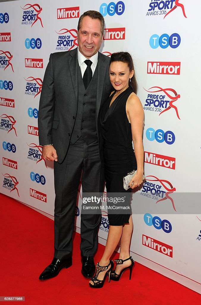 David Seaman attends the Daily Mirror's Pride of Sport awards at The Grosvenor House Hotel on December 7, 2016 in London, England.
