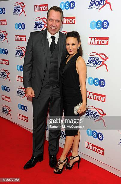 David Seaman attends the Daily Mirror's Pride of Sport awards at The Grosvenor House Hotel on December 7 2016 in London England