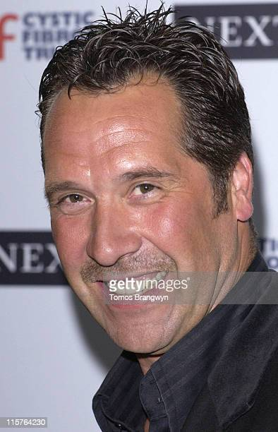 David Seaman during Cystic Fibrosis Trust Breathing Life Awards Press Room at Royal Lancaster Hotel in London Great Britain