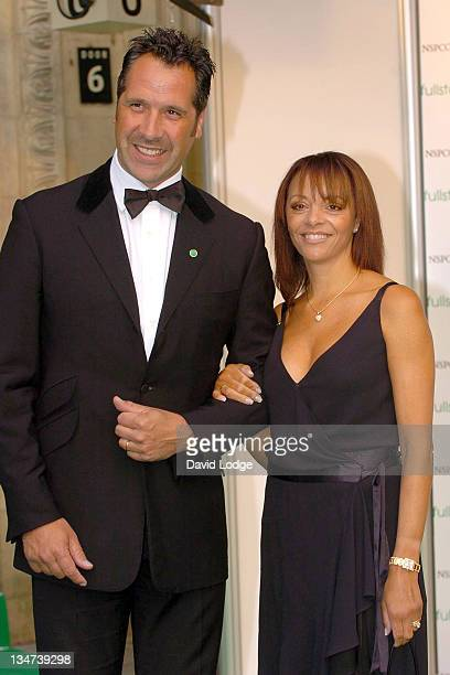 David Seaman during Dream Auction FULL STOP VIP Party Outside Arrivals at Royal Albert Hall in London Great Britain