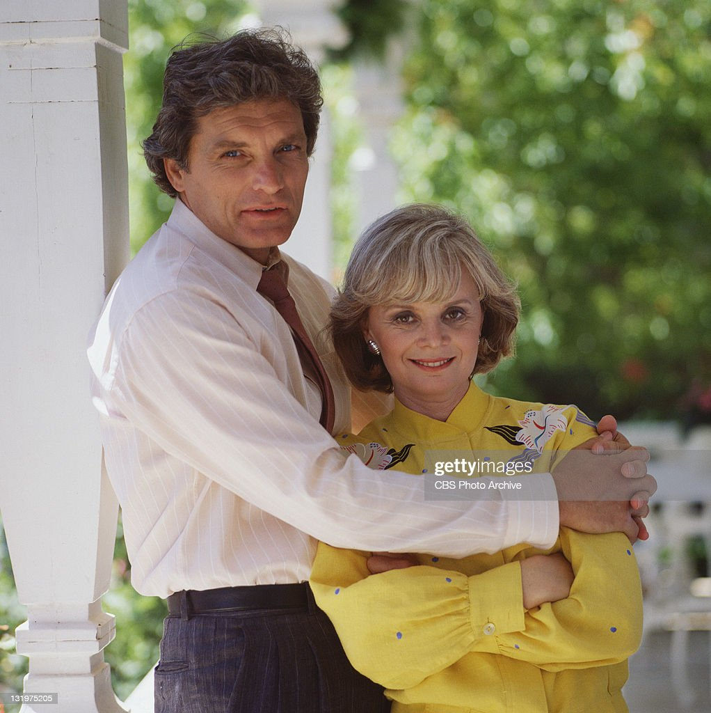 David Selby and Margaret Ladd in Falcon Crest