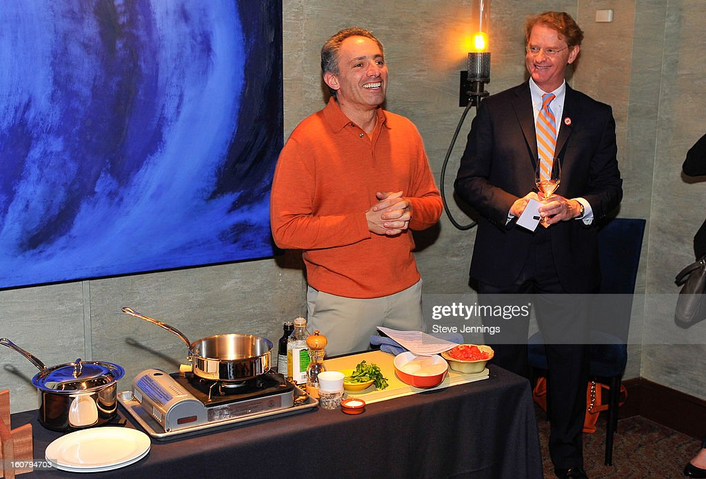 David Shalleck and Shay Zak (L-R) attend the Syracuse University's San Francisco Donor Reception at Waterbar Restaurant on February 5, 2013 in San Francisco, California.