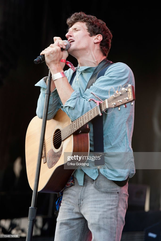 David Shaw of Revivalists performs during the 2012 Voodoo Experience at City Park on October 27 2012 in New Orleans Louisiana