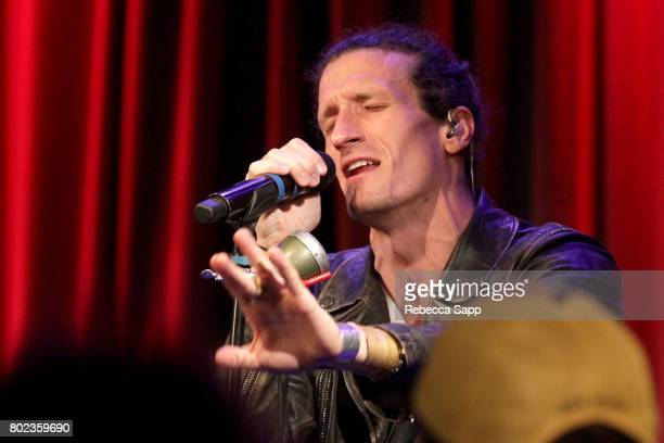 David Shaw of The Revivalists performs at Spotlight The Revivalists at The GRAMMY Museum on June 27 2017 in Los Angeles California