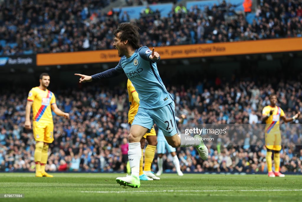 Manchester City v Crystal Palace - Premier League : News Photo