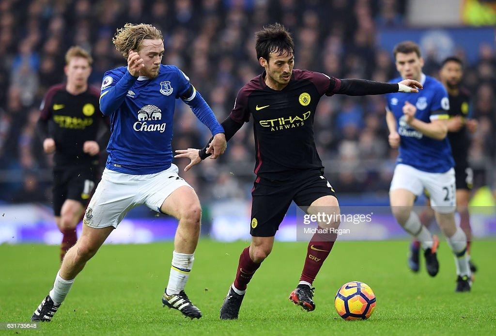 Everton V Manchester City Premier League News Photo