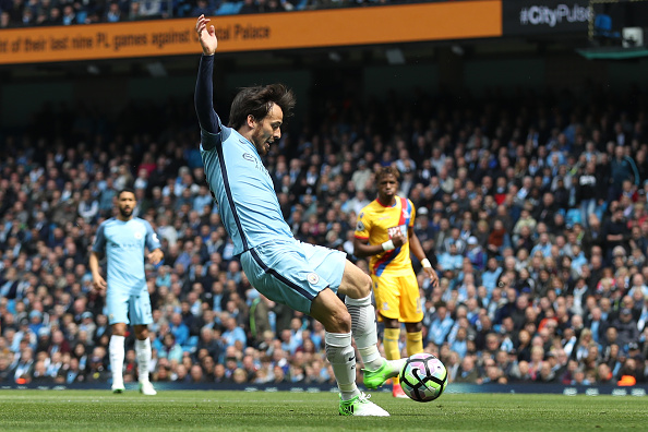 Manchester City v Crystal Palace - Premier League : News Photo