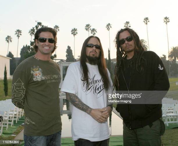 David Silveria Fieldy and James 'Munky' Shaffer of KORN