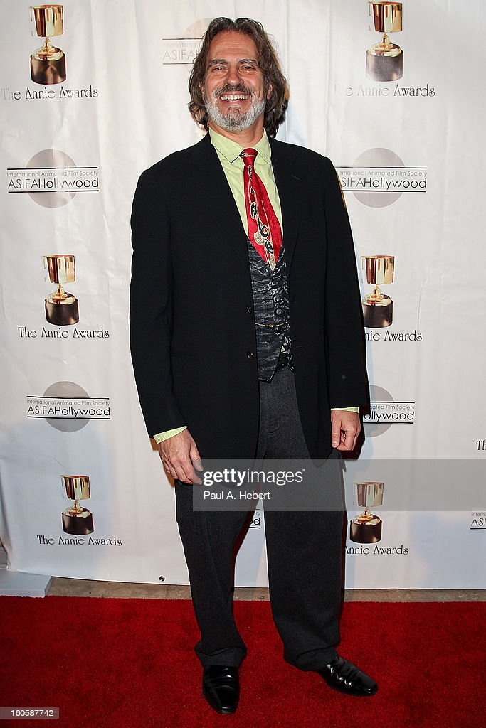David Silverman arrives at the 40th Annual Annie Awards held at Royce Hall on the UCLA Campus on February 2, 2013 in Westwood, California.