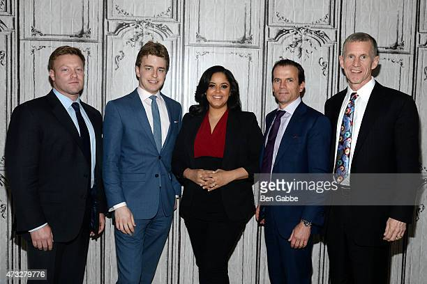 David Silverman Tatum Collins Nancy Redd Chris Fussell and General Stanley McChrystal visit AOL Build at AOL Studios In New York on May 14 2015 in...