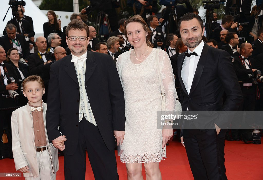 David Sinapian (R) and guests attend Electrolux at Opening Night of The 66th Annual Cannes Film Festival at the Theatre Lumiere on May 15, 2013 in Cannes, France.