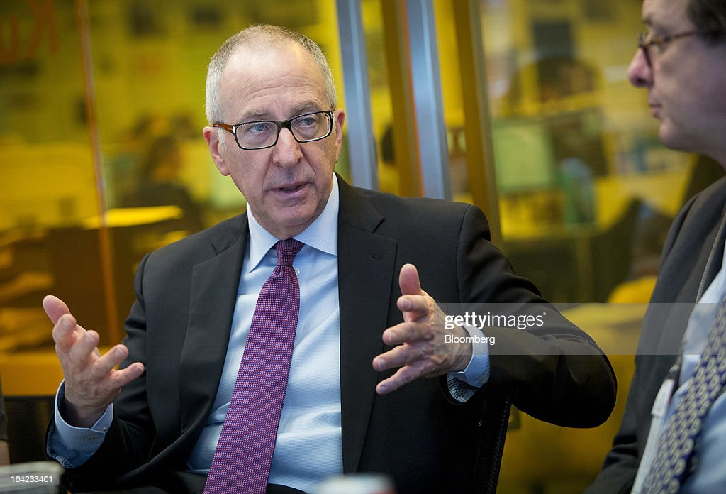David Skorton, president of Cornell University, speaks during an interview in New York, U.S., on Thursday, March 21, 2013. Cornell University has built a 2 million square-foot CornellNYC Tech campus that will serve more than 2,000 students and is part of the city's efforts to lure more high-tech jobs. Photographer: Scott Eells/Bloomberg via Getty Images