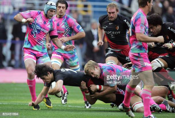 David SKRELA / Simon TAYLOR Stade Francais / Toulouse 8eme journee de Top14