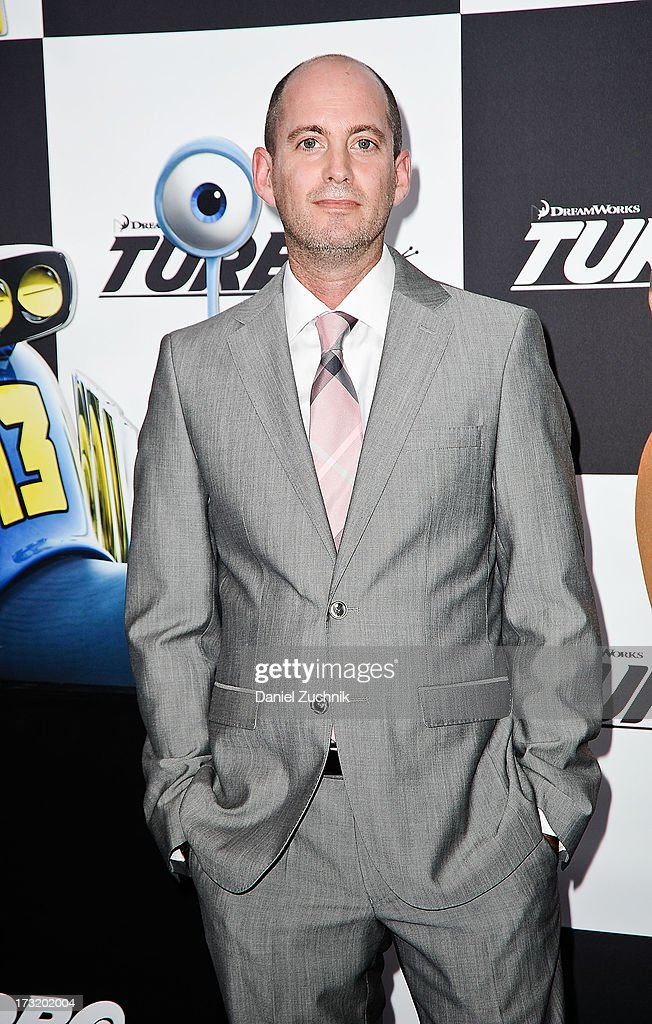 David Soren attends the 'Turbo' New York Premiere at AMC Loews Lincoln Square on July 9, 2013 in New York City.