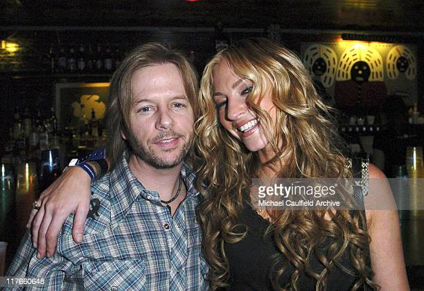 David Spade and Drea de Matteo during American Express 'Jam Sessions' at the House of Blues with Kid Rock Show And Backstage at House of Blues in Los...