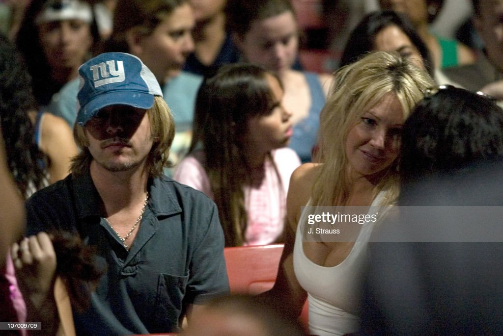 David Spade and Heather Locklear Sighting at the Go-Go's Concert at The Greek